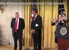 President Obama Honors the Country's Top Innovators and Scientists of 2011 National Medal